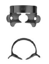 №1A-B с черным покрытием для микроскопа. Кламп для клыков и премоляров верхней и нижней челюсти - фото 4531