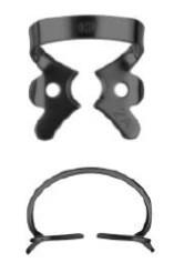 №2А-B с черным покрытием, кламп для клыков и премоляров верхней и нижней челюсти - фото 4533