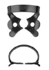 №27-B с черным покрытием, кламп для клыков и премоляров верхней и нижней челюсти - фото 4536