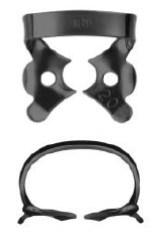 №206-B с черным покрытием, кламп для клыков и премоляров верхней и нижней челюсти - фото 4538