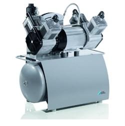 Компрессор Quattro с мембранным осушителем без кожуха на 4 установки - фото 4741
