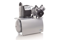 Компрессор Duo Tandem с мембранным осушителем 2 агрегатами без кожуха на 4-6 установок - фото 4743