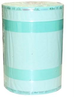 РУЛОНЫ СО СКЛАДКОЙ ДЛЯ СТЕРИЛИЗАЦИИ, 25 СМ Х 6,5 X 100 М (АВТОКЛАВ),(SOGEVA,ИТАЛИЯ) - фото 4919