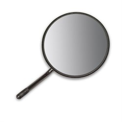 Зеркало HR front, плоское, размер 0/14мм, 7-0-SS - фото 5287