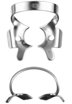 №4 полированная сталь Аналог клампа №3 (Dentech, Япония) - фото 5451