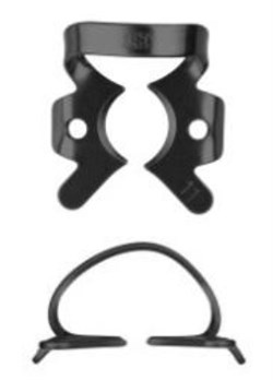 Кламп коффердам для моляров №11-В с черным покрытием для работы с микроскопом (Dentech, Япония) - фото 5569