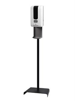 Сенсорный диспенсер для антисептика на мобильной стойке объём 1200 мл. - фото 6329