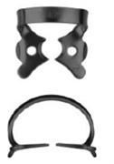 №2-B с черным покрытием для микроскопа, кламп для клыков и премоляров верхней и нижней челюсти