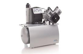 Компрессор Duo Tandem с мембранным осушителем 2 агрегатами без кожуха на 4-6 установок