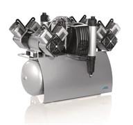 Компрессор Quattro Tandem с мембранным осушителем 2 агрегатами без кожуха на 8-16 установок