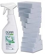 FD 360 - cредство для чистки и ухода за изделиями из искусственной кожи (0.5 л, распылитель, 10 спонжей)