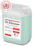 Dr.Klinsman / Спиртовой антисептик для рук 5л./ Жидкий дезинфектор для обработки поверхностей / Dr. Klinsman