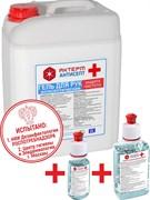 АКТЕРМ / Антисептик ГЕЛЬ для рук и поверхностей 5 литров спирт 70% дезинфицирующее антибактериальное средство